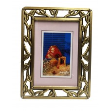 Picture Frame, W/Leaves 3X5
