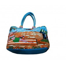 Beach Bag - Sea Side Cafe - Green