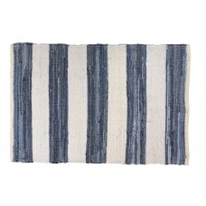 "CHINDI  RUGS-RIBBED, WWBL - 27X42""-STRIPES"