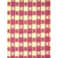 """Tablecloth, Heart Pink 52""""X70"""""""