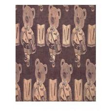 "Tablecloth, Teddy (Burg) 52""X70"""