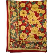 Tablecloth, Green Cotton, 52X70