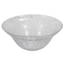Glass Bowl, Crackled
