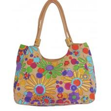 Beach Bag - Floral Multi Clr