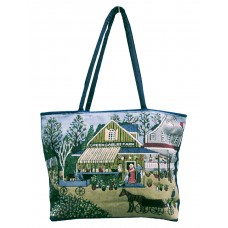 Shopping Bag -Tapestry, Green Gables
