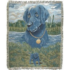 Tapestry Throw - Dog