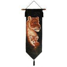 Wall Hanging - Tapestry, Lions