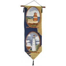 Wall Hanging - Nautical, 2 Lt. Houses