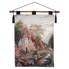 Wall Hanging- Church, 26X36 With Lining