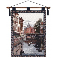Wall Hanging- Town, 26X36 With Lining