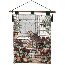 Wall Hanging- Cat, 26X36 With Lining
