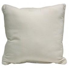 Cushion Velvet-Direct Fill, Ivory