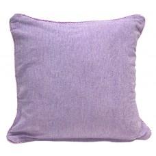 Cushion, Chenille/Cotton- Purple