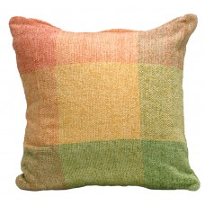 Cushion,Viscose Chenille-Brght Multi Col