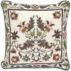 Cushion, Floral W/Border