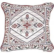 Cushion, Floral W/Diamond Shape