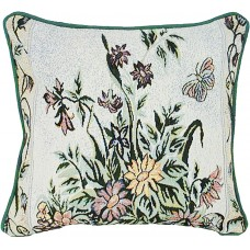 Tapestry Cushion, 17X17, Floral