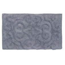 "Bath Mat- Tufted Cotton 20X32"" - Violet"
