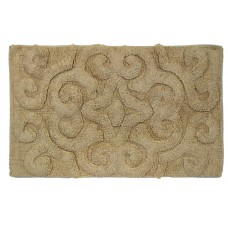 "Bath Mat- Tufted Cotton 20X32"" - Camal"