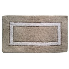 "Bath Mat- Sqr. Track - Cotton 20X30"" - Assorted"