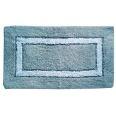 "Bath Mat- Sqr. Track - Cotton 20X30"" - Green"
