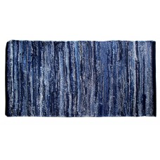 "Chindi Rugs - Denim Blue- 27""X72"""