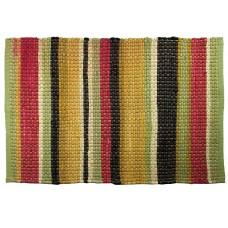 "Floor Mat, Chindi Cotton - Multi Clr, Summer Bright-48""X72"""
