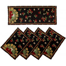 Tapestry Runner Set-Apples-Western