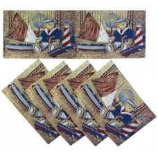 Tapestry Runner Set, (4+1)=5 Pcs.
