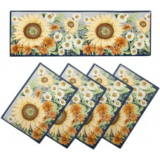 Tapestry Runner Set - Sunflowers (4+1)