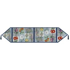 """Tapestry Runner 54"""" - Floral Lilac"""
