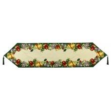"""Tapestry Runner - 54"""", Fruit Border Gre"""