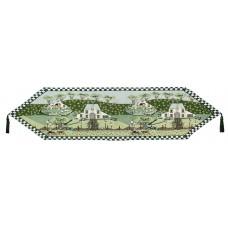 """Tapestry Runner 54"""" - House On Prairie"""