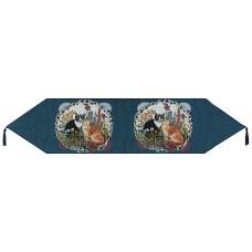 """Tapestry Runner - Cat, 54"""""""