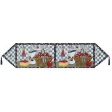 """Tapestry Runner - 54"""", Apple Basket W/T"""