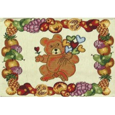 Place Mat - Teddy With Balloons