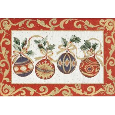 Place Mat, Christmas Decorations/Lurexed