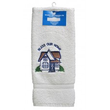 Hand Towels, Embroidered -Bless Home