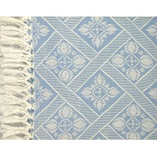 """Table Cloth - Pearlized Baby Blue 52""""X70"""""""