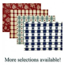 Table Cloths - 60X84. Assorted