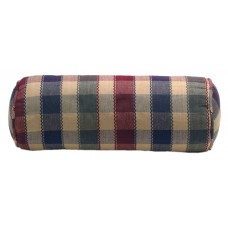 Bolster Pillow Covers Only - Fall Checks - 18 X 5