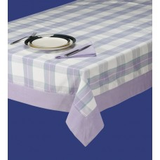 Tablecloth W/Border,60X104-Summer Lilac