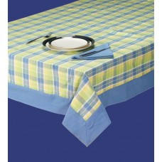 Tablecloth W/Border,60X104-Spring Brigh