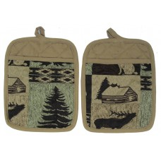 Pot Holders - Canadian North - 2 Pc Set