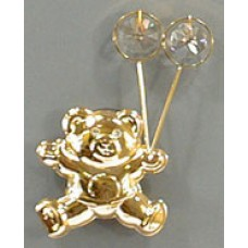 Sun Catcher, Teddy Bear W/Balloon