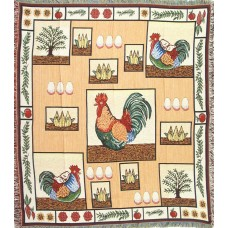 Throw Tapestry - Rooster