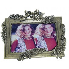 Picture Frame, W/Bow 5X7
